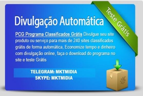Software Divulgador 250 Classificados Gratis- Download Gratuito