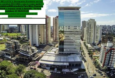 Contabilidade   Imposto de renda  auditoria  – Arapongas PR – av. Para