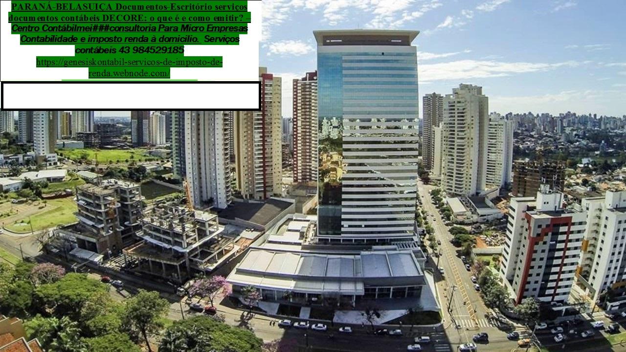 Contabilidade | Imposto de renda| auditoria  – Arapongas PR – av. Para
