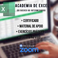 Academia de Excel – Básico ao Intermediário 4 – Ouro (+2h Zoom Exclusi