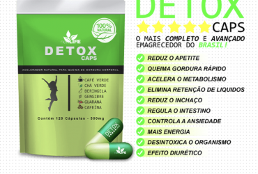 Detox Caps !Emagreça agora de forma rápida e saudável