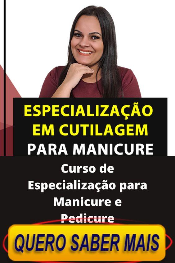 Curso de Especialização para Manicure e Pedicure