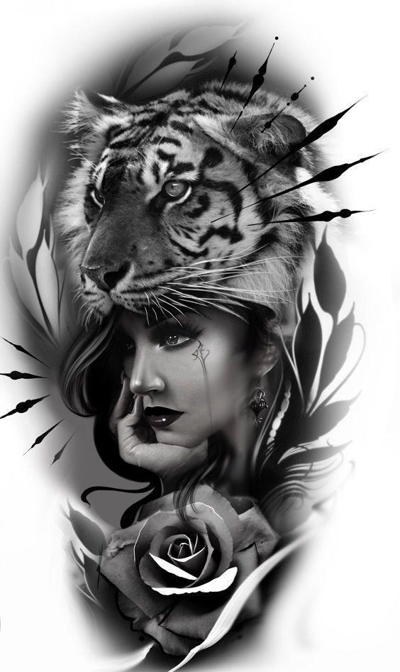 tatuagem realista para braço-centro rio