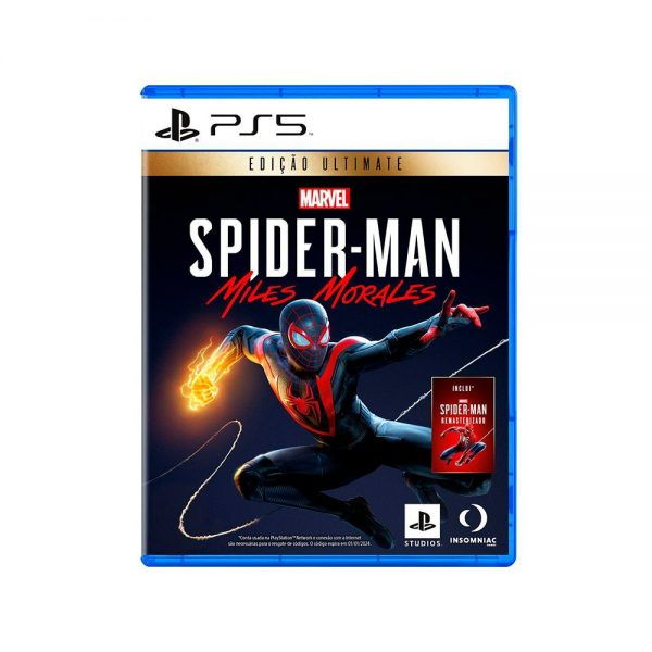 Marvel's Spider-Man Sony PS5 Miles Morales Edition Ultimate