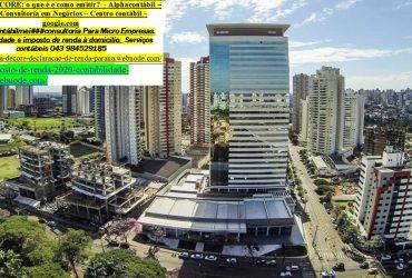 Ponta Grossa###Imposto de renda, Contabilidade |Comprovante de Renda –