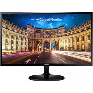 """Monitor Gamer Curvo Samsung 24"""" Led Full Hd Lc24f390fhlmzd Hdmi Entra"""