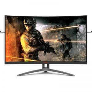 "Monitor Gamer Aoc Agon 32"" Widescreen Curvo 165hz 1ms Freesync Premiu"