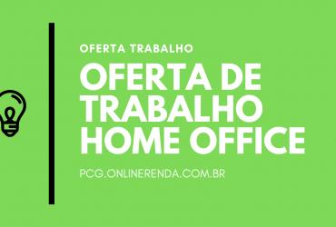 HOME OFFICE – TRABALHO REVENDENDO SOFTWARE
