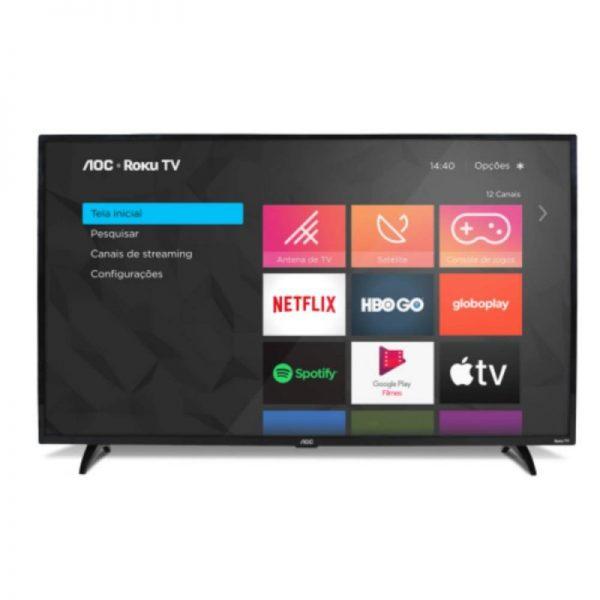 """Smart Tv Aoc Roku 32"""" 32s5195-78g Led Hd Hdmi Usb Miracast Roku Mobil"""