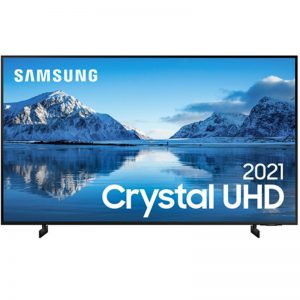 "Samsung Smart Tv 65"" Crystal Uhd 4k 65au8000, Painel Dynamic Crystal"