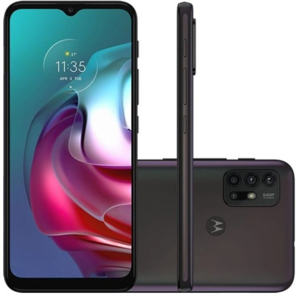 "Smartphone Motorola G30 128gb Tela De 6,5"" Câmera 64 Mp 8mp Dark Pris"