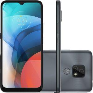 """Smartphone Motorola Moto E7 32gb 4g Tela 6.5"""" Câmera Dupla 48mp 2mp F"""