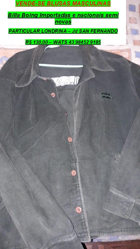 Brecho Masculino – Blusasimportadas particular – usados 43-98452-9185