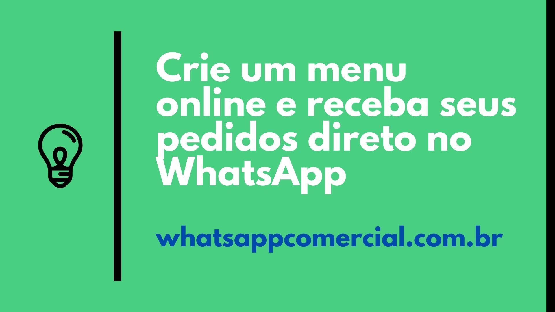 Monte sua Loja para WhatApp Agora