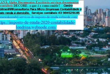 Contabilidade Londrina – Assessoria em Londrina