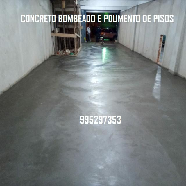 Concreto Bombeado Caminhão Betoneira Rj